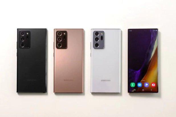 Samsung presenta su Galaxy Note 20