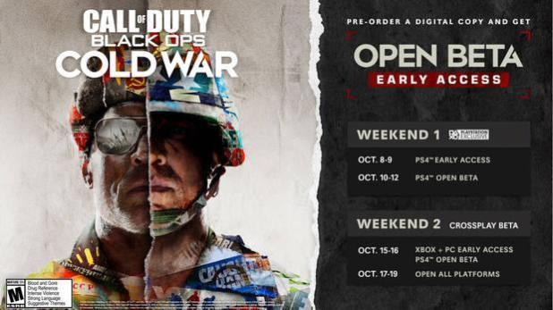 La Beta de Call of Duty: Black Ops Cold War estará disponible en todas las plataformas del 15 al 19 de octubre