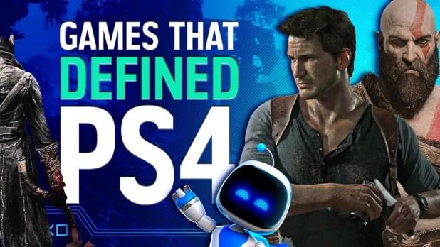 Un segundo de cada juego que definió a PS4. El resumen en vídeo de los mejores videojuegos de PS4