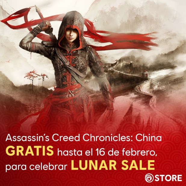 Assassin's Creed Chronicles: China gratis para PC hasta el 16 de febrero