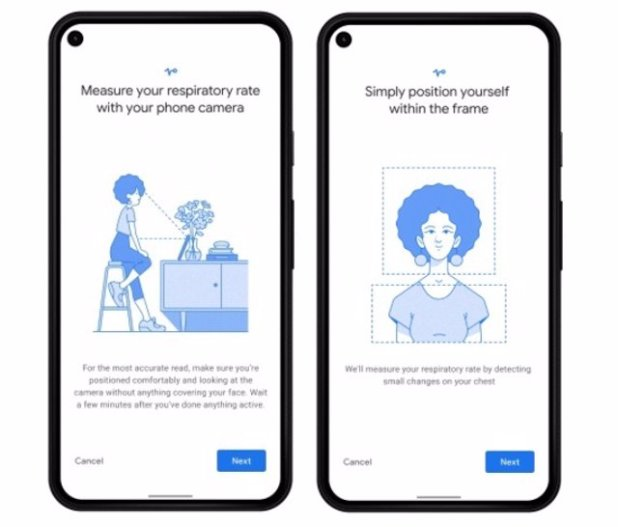 Google Fit usará la cámara del móvil para registrar el ritmo cardiaco y la frecuencia respiratoria
