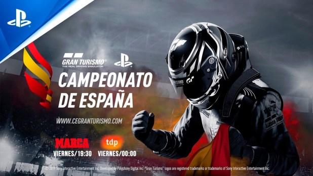 Vive en directo el inicio del Campeonato de España de Gran Turismo