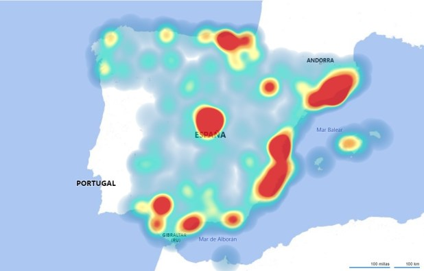 El I Mapa del IoT en España