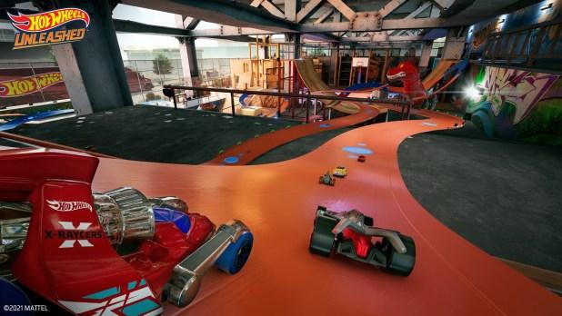 El parque de patinaje se muestra en el nuevo vídeo de juego de Hot Wheels Unleashed