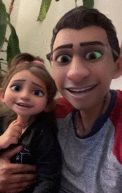 Snapchat conquista las redes sociales con su nueva Lente Cartoon 3D Style