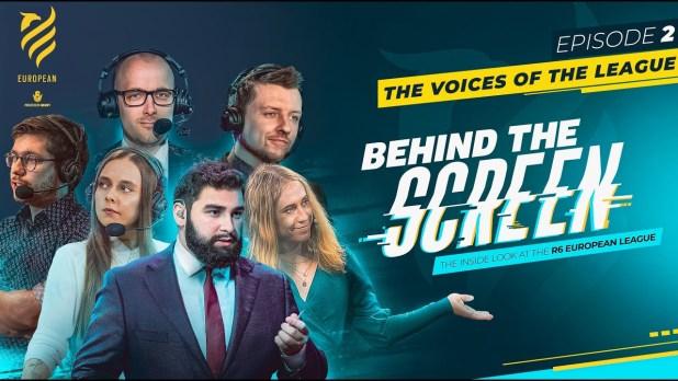 """Behind the Screen"" de Rainbow Six Esports"