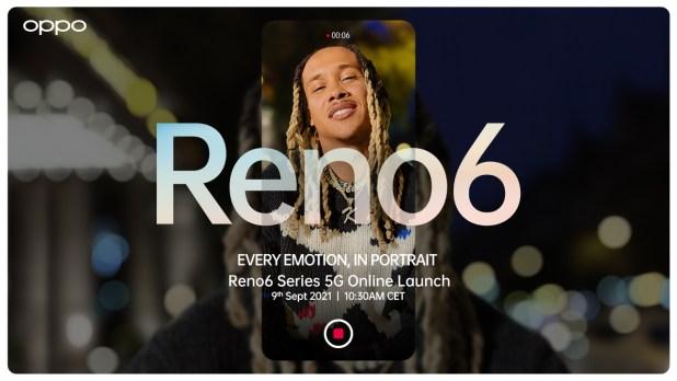 OPPO presentará una nueva era de IA para videografía con OPPO Reno6 Series 5G