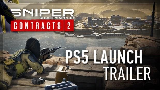 Sniper Ghost Warrior Contracts 2 se despliega en PS5 - Tráiler de lanzamiento