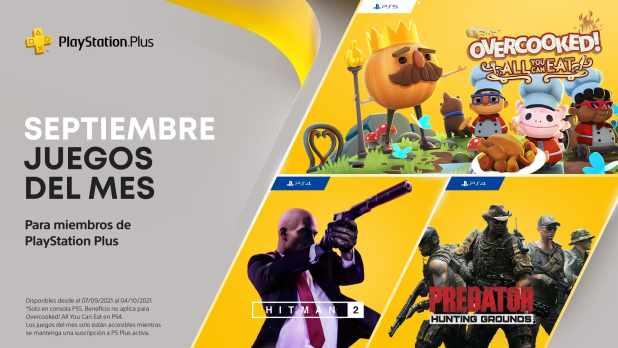 Estos son los juegos gratis de PS Plus en septiembre de 2021 para PS5 y PS4