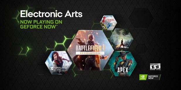 Los juegos de EA llegan al móvil con GeForce NOW