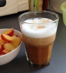 Kokos-caffe latte