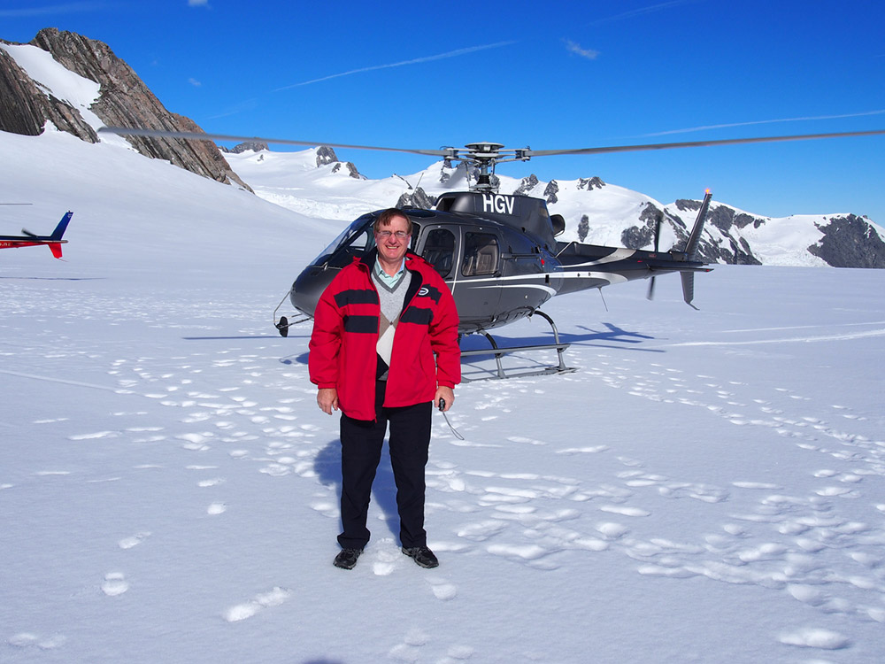 Defrosting a glacier