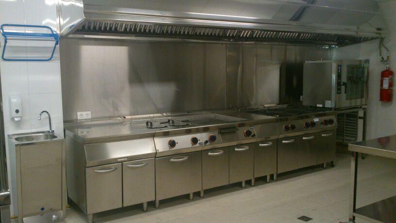 Maquinaria hosteleria cocinas hornos batidoras