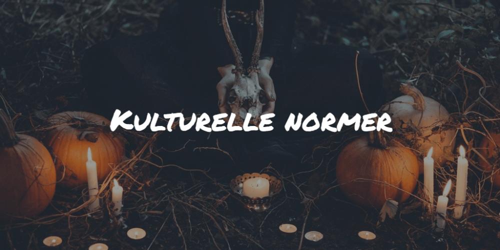 Kulturelle normer Frinans