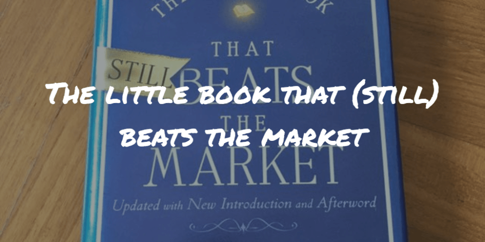 The little book that (still) beats the market Frinans