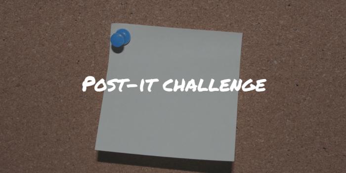 Post-it challenge Frinans