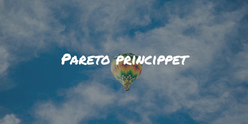 Pareto princippet Frinans