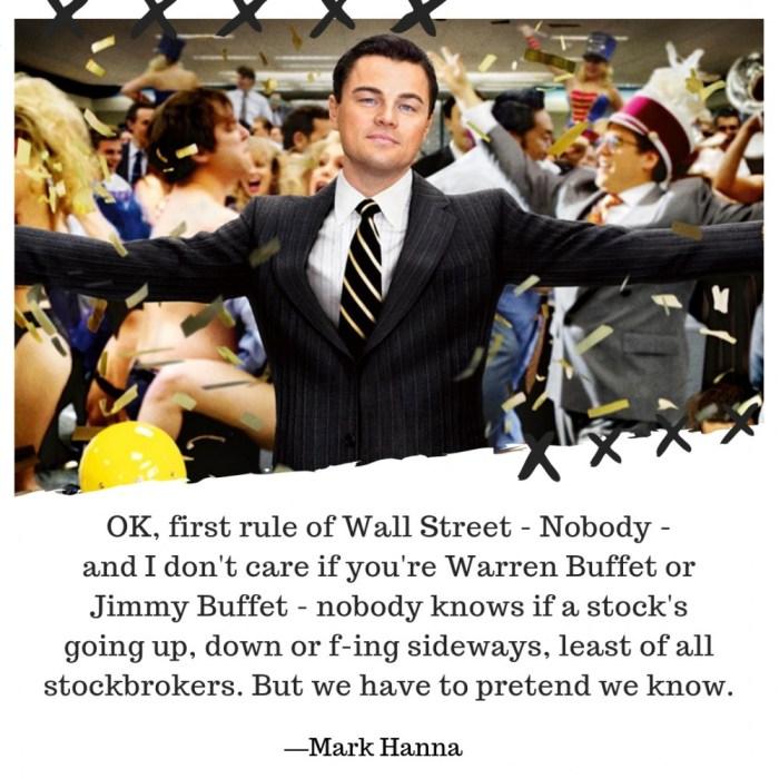 Wolf of Wall Street lærte os, hvad investering ikke er