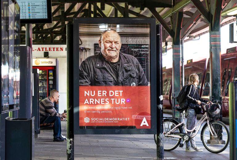 Tidlig pension Arnes tur