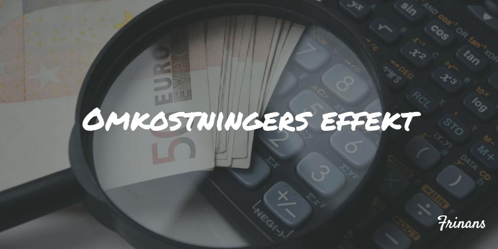 Omkostningers effekt Frinans