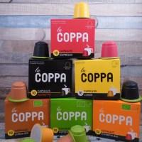 la COPPA kompostierbare Kaffee Kapseln für die Nespresso #Müller