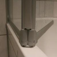 Aufgemöbelt! Badewannenfaltwand SCHULTE von DUSCHMEISTER.DE #Badezimmer #Sanitär #Duschmeister