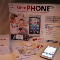 Geschenk-Tipp: Das ClemPhone 7.0 von Clementoni im Test #erstesSmartphone #Kids