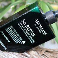 Gesunde Kopfhaut dank AROMASE 5 alpha Repair Liquid Shampoo #Aromase #Haaro #gesundeKopfhaut