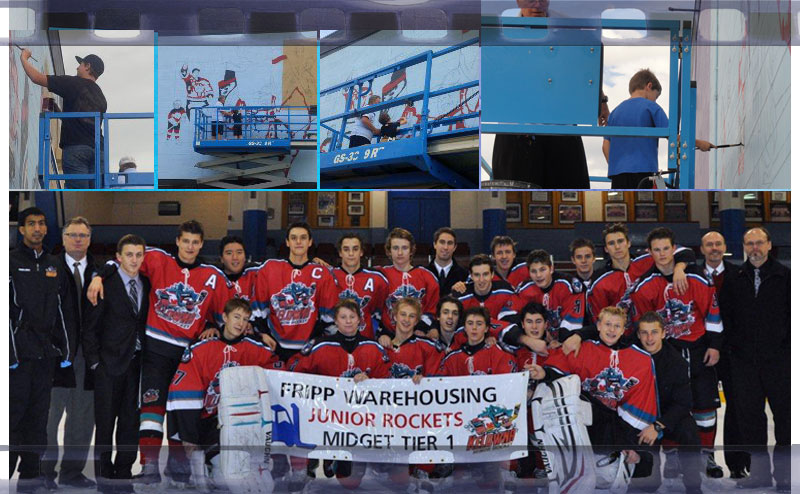 Kelowna Minor Hockey League Gets Involved