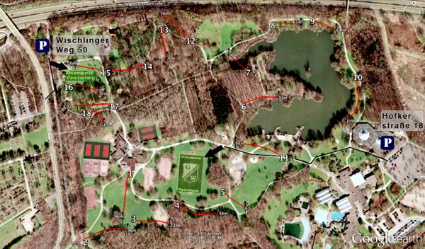 Im Revierpark Wischlingen gibt es jetzt einen Discgolf-Parcours mit 18 Bahnen. Auf dem GW-Kley-Feld wird seit dieser Woche auch Ultimate gespielt.