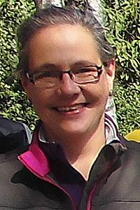 Heike Hartmann von GW Marathon Münster, Mitglied des Discgolf-Ausschusses des Frisbeesport-Landesverbandes Nordrhein-Westfalen.