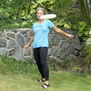 Lori Throws Chicken Wing