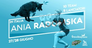 disc dog stage Ania Radomska 2020