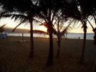 Sonnenuntergang am Las Canteras Strand