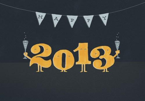 Happy 2013 (Bild: evalottchen/Flickr)