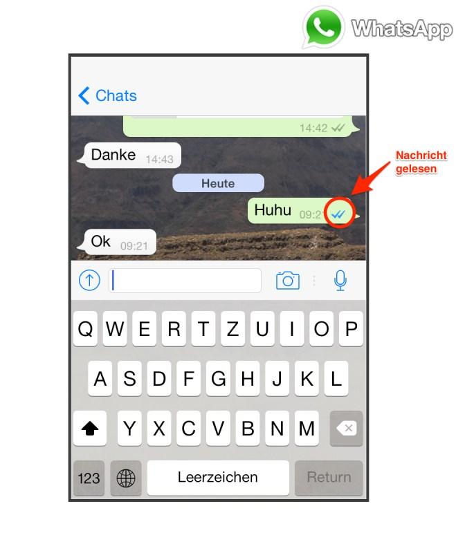 Whatsapp Gruppe Gelesen