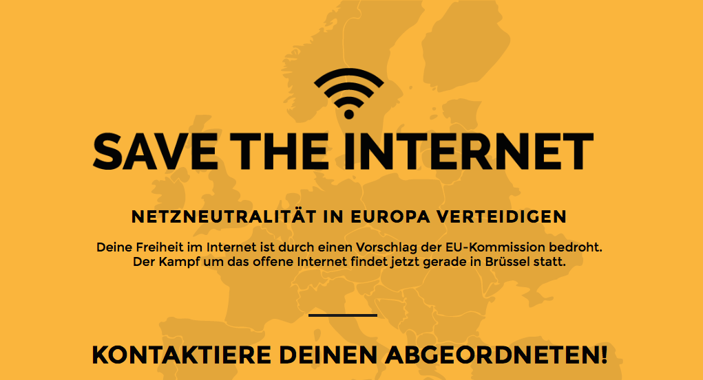 save the internet
