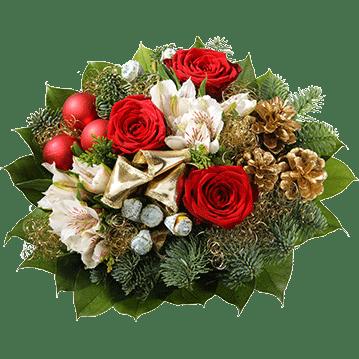Blumenversand frischeblumende  Blumen zu Weihnachten
