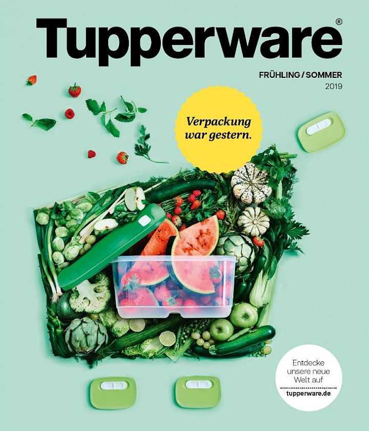 Der Tupperware-Katalog Frühjahr/Sommer 2019 ist da!