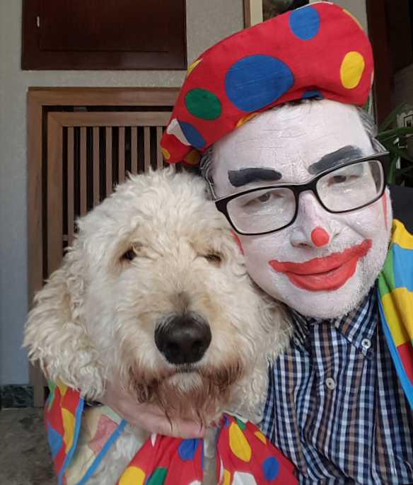 Heimparty mit Lappenclown