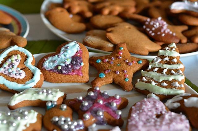 Lebkuchen in der Weihnachtszeit