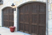 Stained Garage Doors- Dallas, TX - Frisco Faux Creations ...