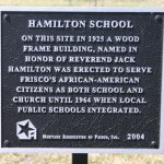 Hamilton School, First St. Park