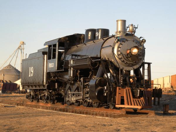 1910 Steam Locomotive Heritage Association Of Frisco