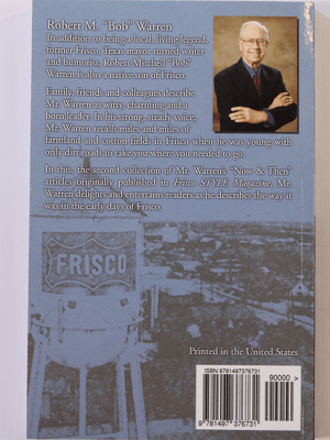 Frisco - Now and Then Volume 2 Back