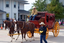 Stage Coach at Shawnee Trail Cowboy Days