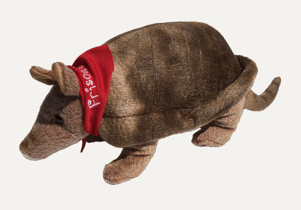 Tex the Armadillo Side