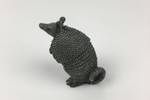 Standing Armadillo Ornament