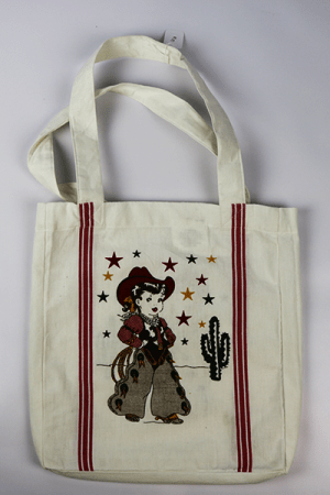 Vintage Cowgirl Tote
