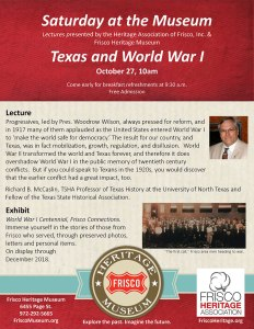 Texas & WWI Flyer